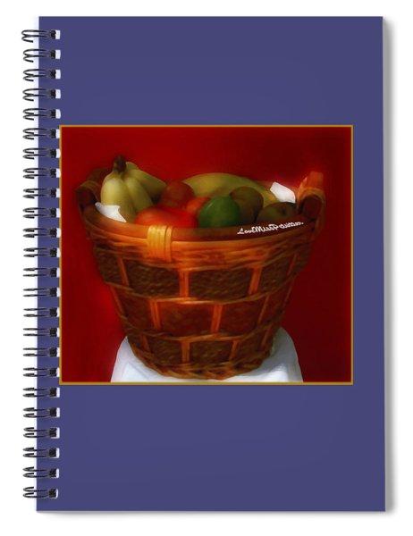 Fruit  Art 3 Spiral Notebook