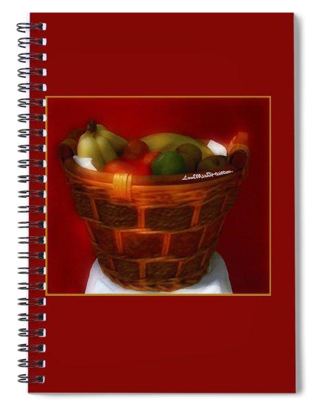 Fruit  Art 6 Spiral Notebook