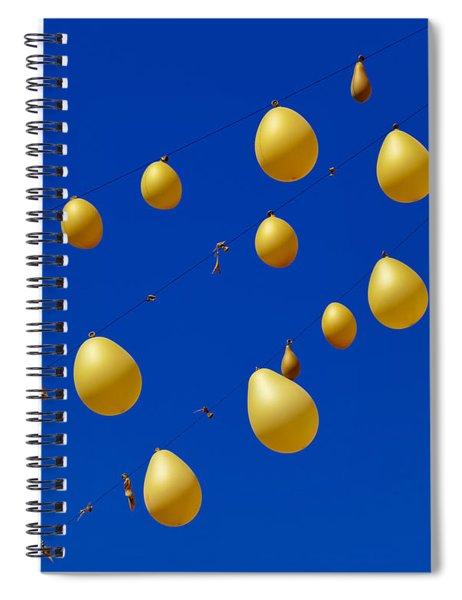 Fruit Of The Vine Spiral Notebook by Skip Hunt