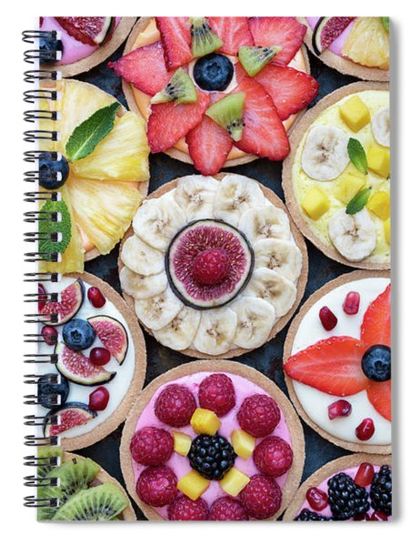 Fruit Tarts  Spiral Notebook