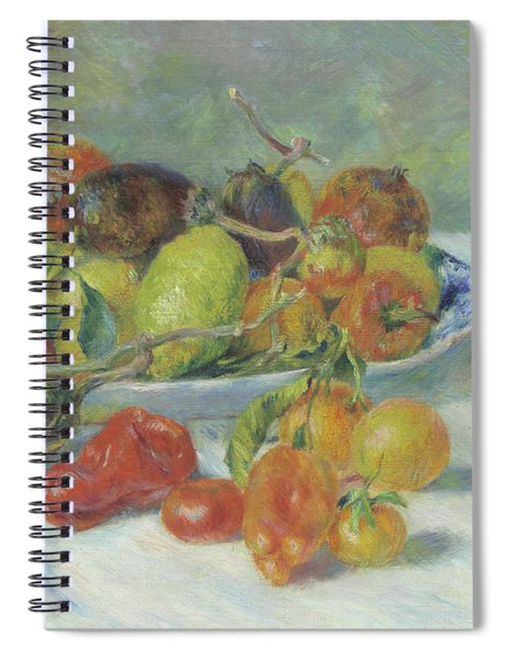 Fruits Of The Midi Spiral Notebook