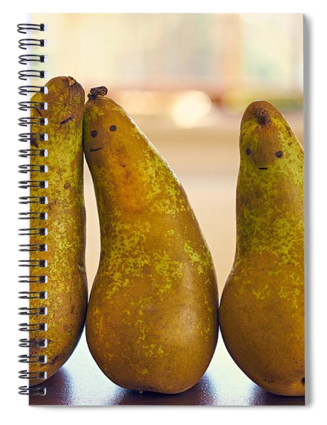 Fruity Family Spiral Notebook