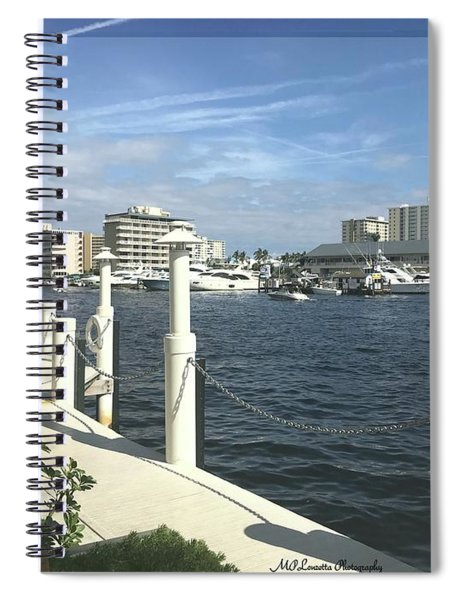 Ft. Lauderdale, Inter-coastal Spiral Notebook