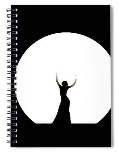 Full Moon Dance Spiral Notebook