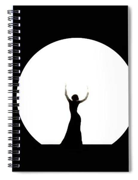 Full Moon Dance Spiral Notebook