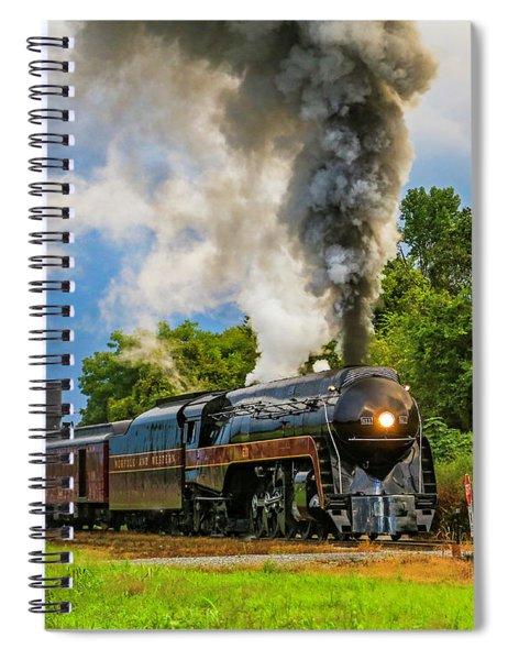 Full Steam 611 Spiral Notebook