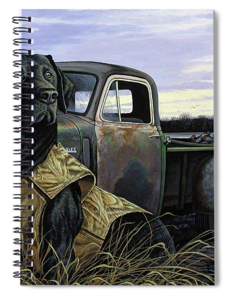 Fully Vested Spiral Notebook