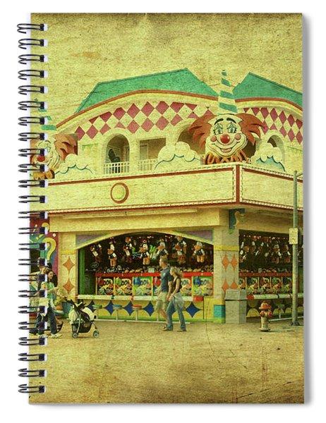 Fun House - Jersey Shore Spiral Notebook