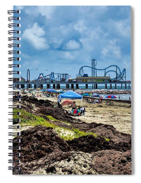 Fun On The Beach Spiral Notebook