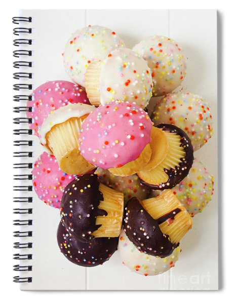 Fun Sweets Spiral Notebook