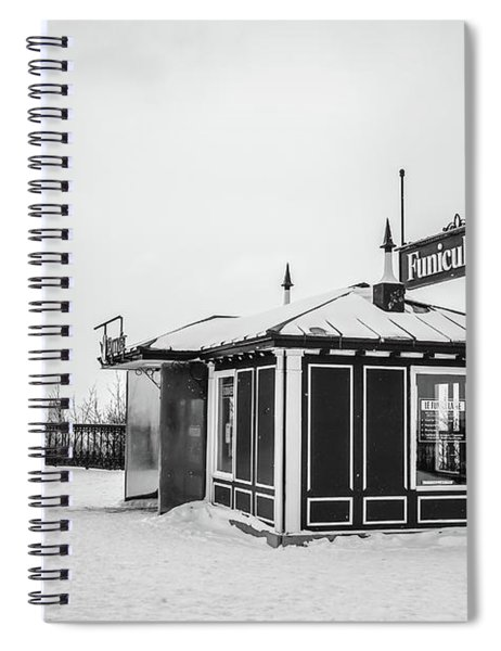 Funiculaire Quebec City Spiral Notebook