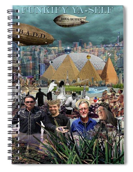 Funkify Ya - Self Spiral Notebook