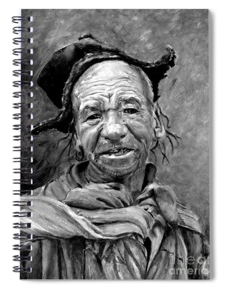 Funky Hat Spiral Notebook