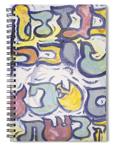 Funnzie Letters Spiral Notebook