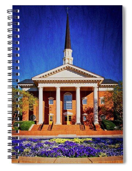 Charles E. Daniel Chapel, Furman University, S.c. Spiral Notebook