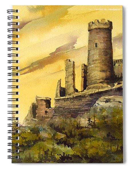 Furstenburg On The Rhine Spiral Notebook