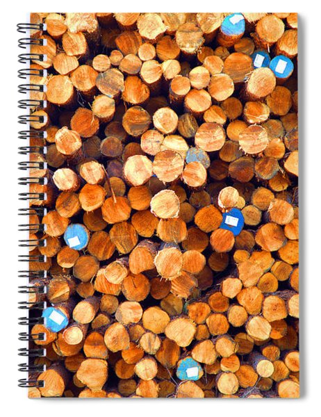 Future Two By Fours Spiral Notebook
