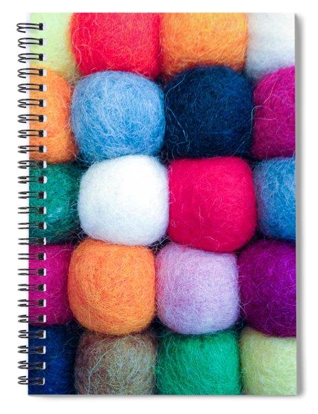 Fuzzy Wuzzies Spiral Notebook