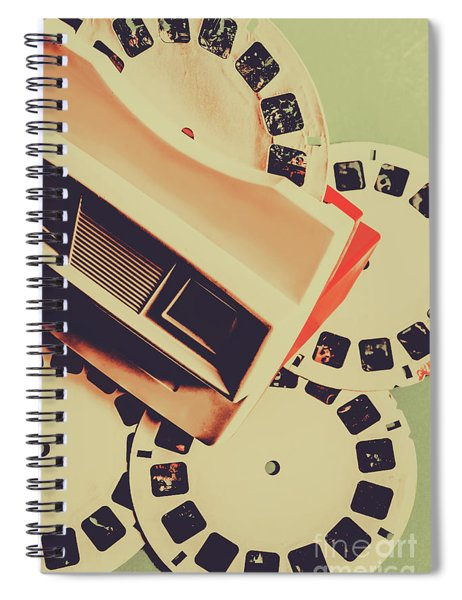 Gadgets Of Nostalgia Spiral Notebook