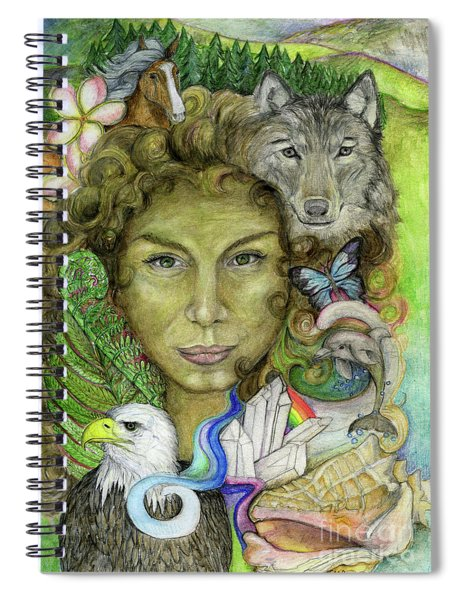 Gaia Spiral Notebook