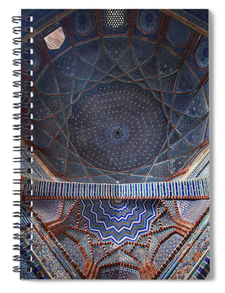 Galaxy Under The Dome Spiral Notebook