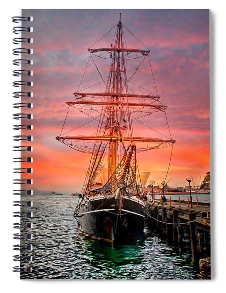 Galleano's Quest Spiral Notebook