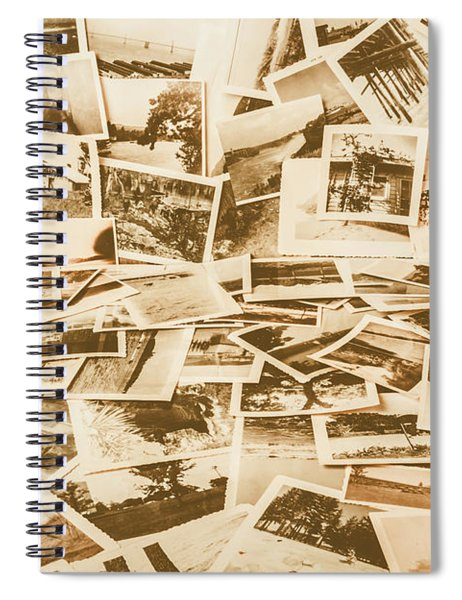 Gallery Of Old Landscape And Antique Places Spiral Notebook