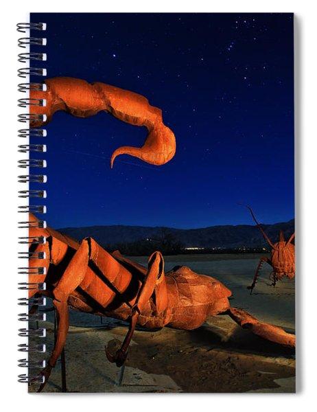 Galleta Meadows Estate Sculptures Borrego Springs Spiral Notebook