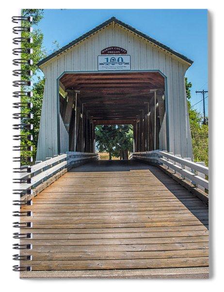 Gallon House Covered Bridge Spiral Notebook