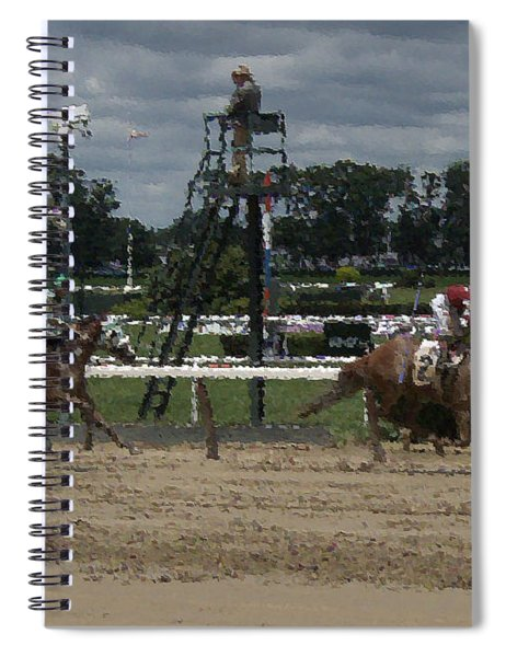 Galloping Out Painting Spiral Notebook