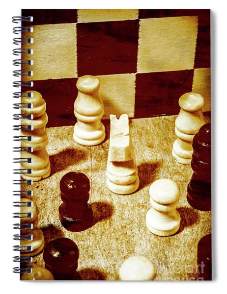 Game Of Chess And Tactics Spiral Notebook