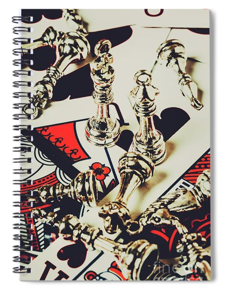 Game Of Still Life Spiral Notebook