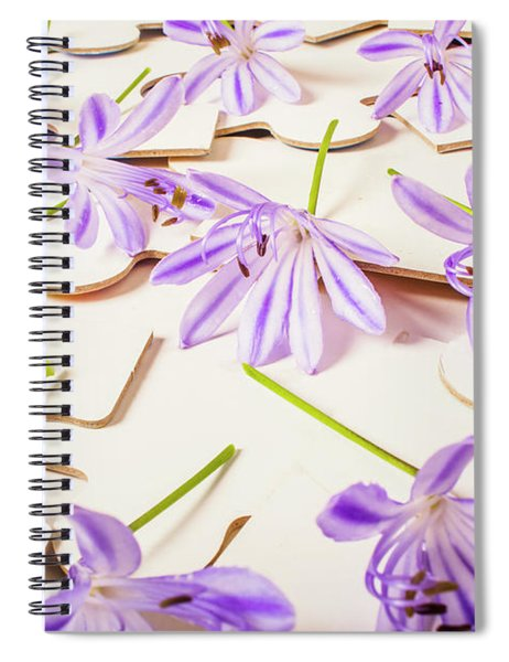Games Of Romance Spiral Notebook