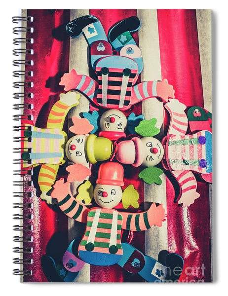 Games Room Of Wooden Circus Play Spiral Notebook