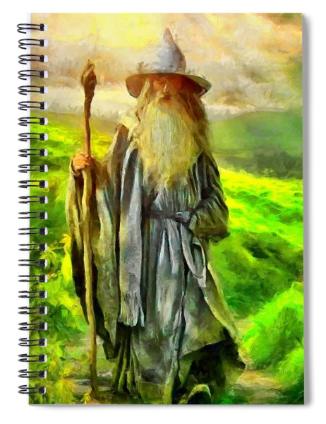 Gandalf, The  Grey Spiral Notebook