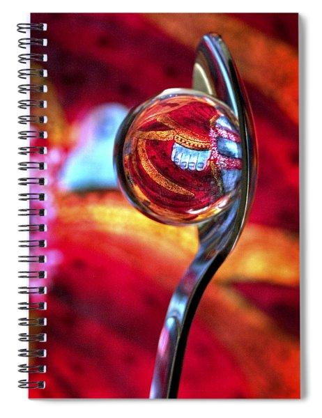 Ganesh Spoon Spiral Notebook