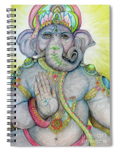 Ganesha Spiral Notebook