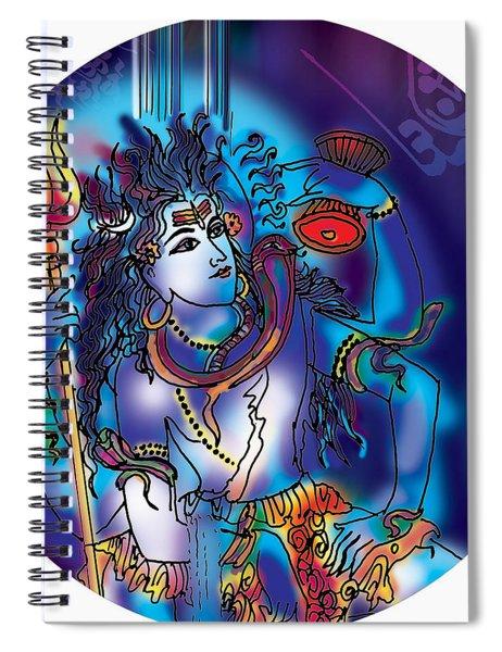 Gangeshvar Shiva Spiral Notebook
