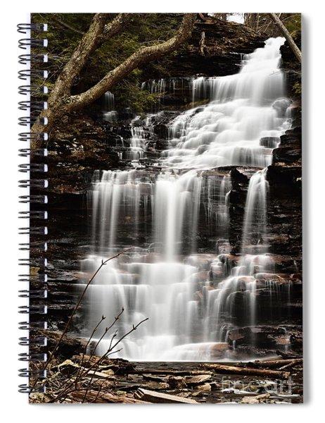 Ganoga Falls Spiral Notebook