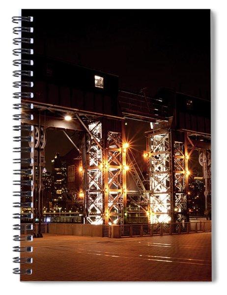 Gantry Nights Spiral Notebook