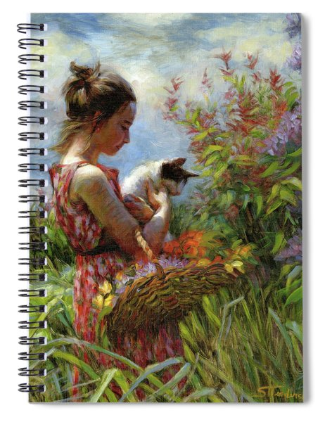 Garden Gatherings Spiral Notebook