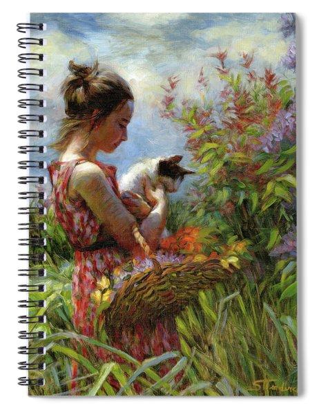 Garden Gatherings Spiral Notebook