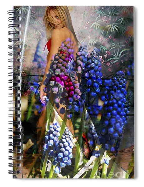 Garden Nymph Spiral Notebook