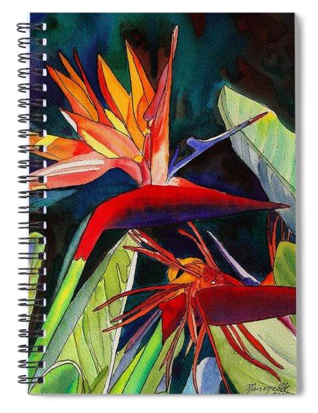 Garden Of Paradise Spiral Notebook