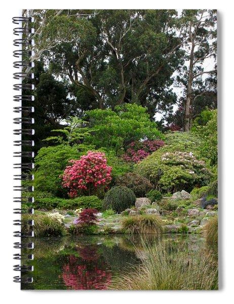 Garden Reflection Spiral Notebook