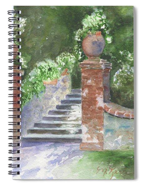Garden Steps Spiral Notebook