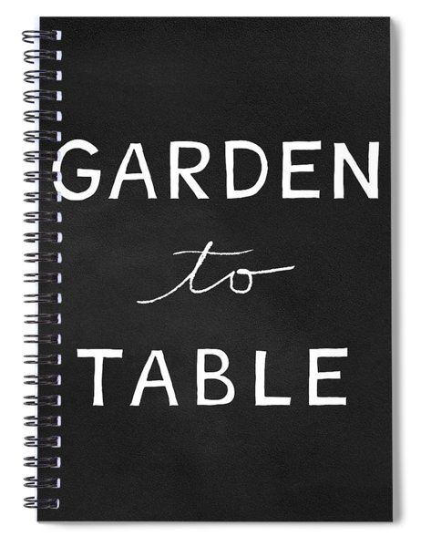 Garden To Table- Art By Linda Woods Spiral Notebook