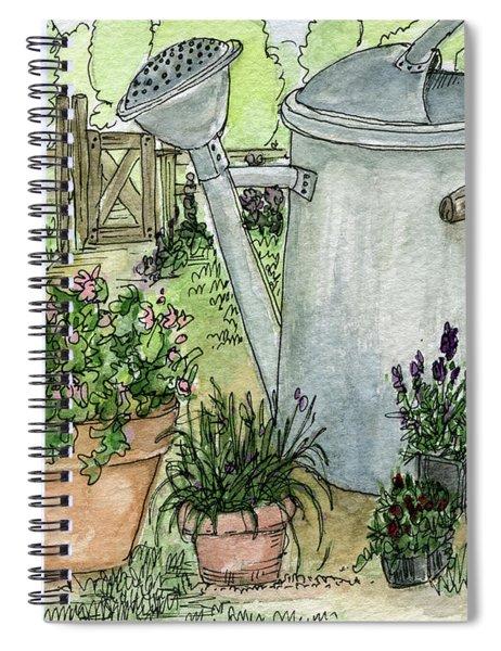 Garden Tools Spiral Notebook