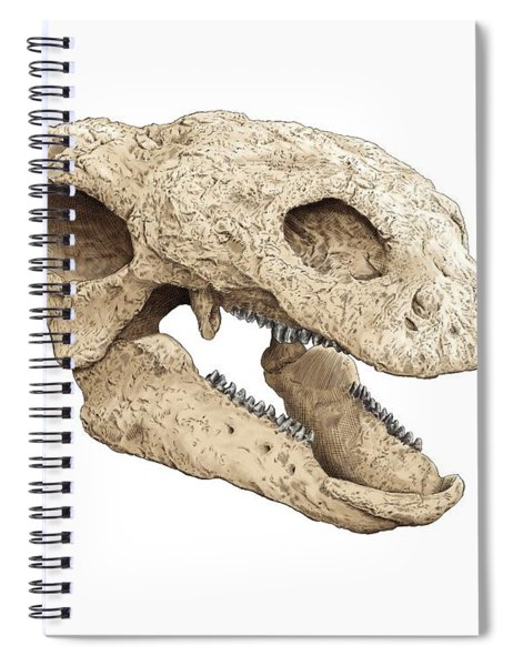 Gastonia Burgei Skull Spiral Notebook