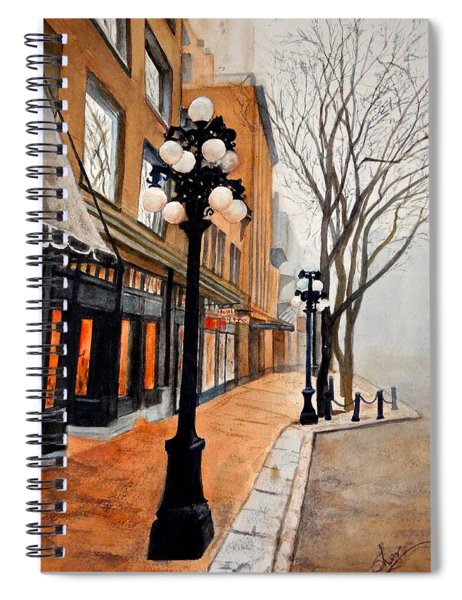 Gastown, Vancouver Spiral Notebook